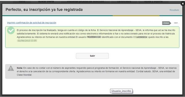 """""""Como inscribirse en el SENA finalización"""""""